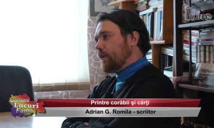 Adrian G. Romila – Printre corabii si carti