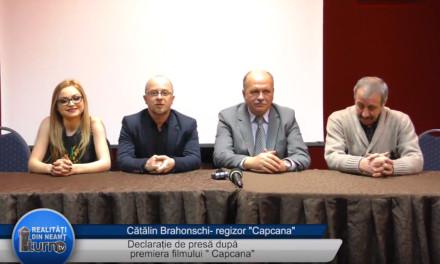 Declaratie de presa dupa premiera filmului Capcana