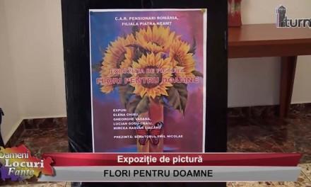 Expozitie de pictura: Flori pentru doamne