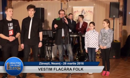 """Spectacol """"Vestim Flacăra Folk"""""""