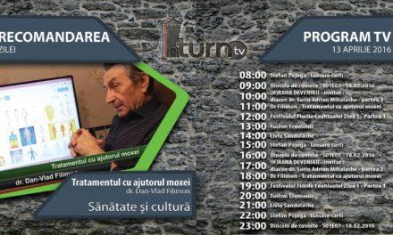 Program TV 13 aprilie 2016 si Recomandarea zilei