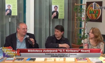 Întâlnire cu scriitorul francez Franz Bartelt