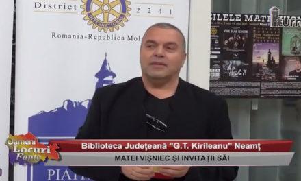 Matei Vișniec și invitații săi