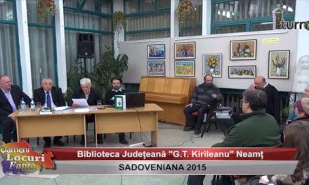 Sadoveniana 2015