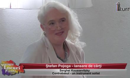 Stefan Pojoga – lansare de carti