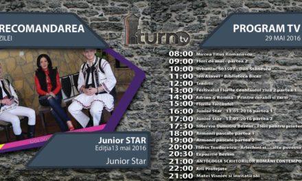 Program TV 29 mai 2016 si Recomandarea zilei