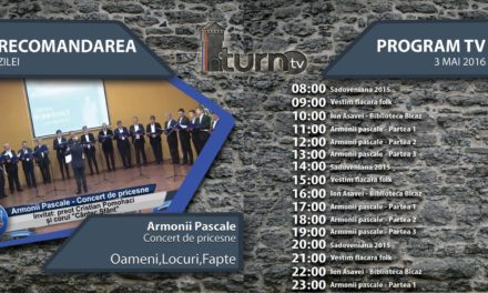 Program TV 3 mai 2016 si Recomandarea zilei