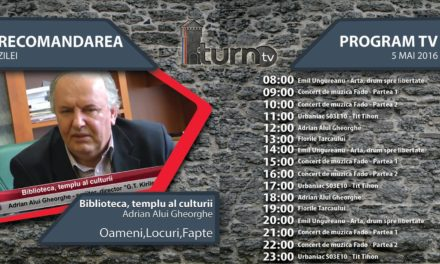 Program TV 5 mai 2016 si Recomandarea zilei
