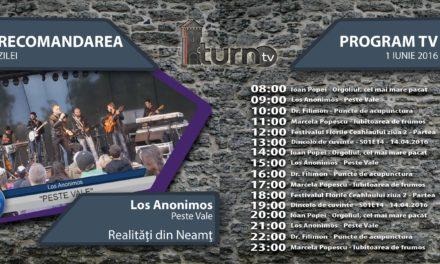 Program TV 1 iunie 2016 si Recomandarea zilei