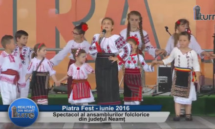 Spectacol al ansamblurilor folclorice din judetul Neamt – partea 2