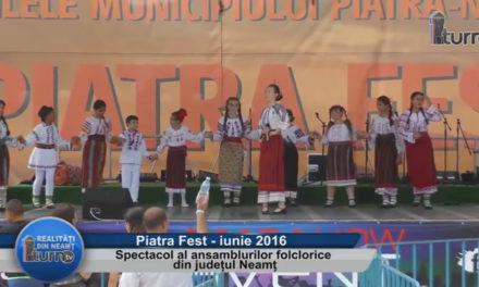 Spectacol al ansamblurilor folclorice din judetul Neamt – partea 3