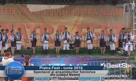 Spectacol al ansamblurilor folclorice din judetul Neamt – partea 5