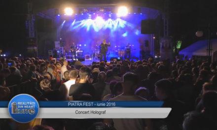 Piatra Fest 2016 Concert HOLOGRAF !