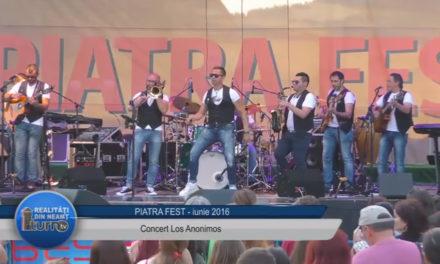 Piatra Fest 2016 Concert Los Anonimos