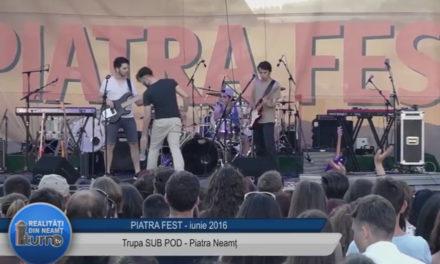 Piatra Fest 2016 Trupa SUB POD