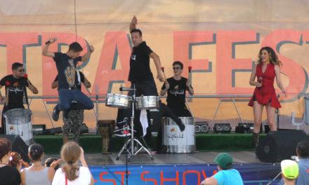 Spectacol percutie SUPERCHILL – PIATRA FEST 2016