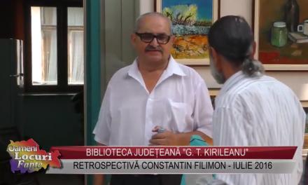 Retrospectiva Constantin Filimon