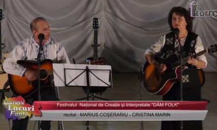 Festivalul DAM FOLK Recital Cristina Marin Marius Coserariu