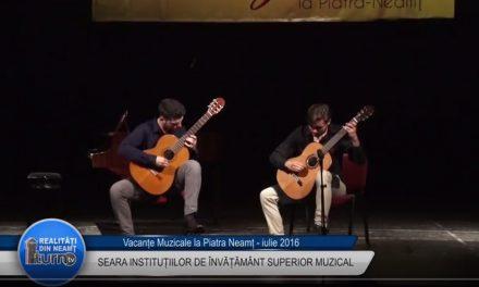 Vacante Muzicale Seara institutiiilor de invatamant superior muzical partea 2