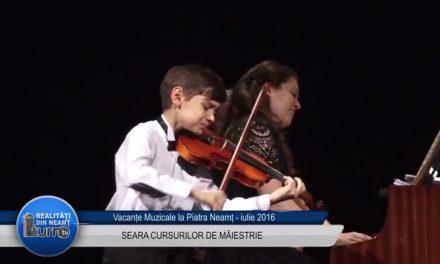 Vacante Muzicale Seara CURSURILOR DE MAIESTRIE partea 1