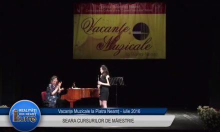 Vacante Muzicale – Seara CURSURILOR DE MAIESTRIE partea 2