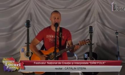 Festivalul DAM FOLK Recital Catalin Stepa