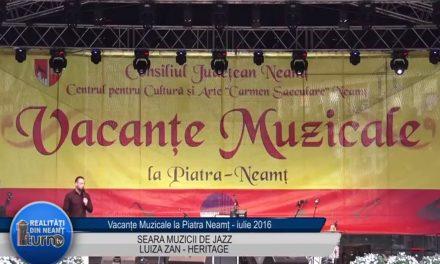 Vacante Muzicale Seara muzicii de jazz partea 1