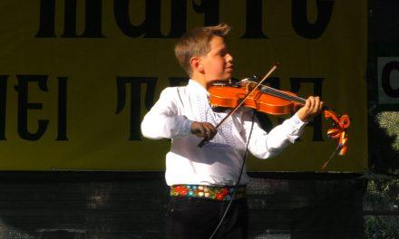 A XXII a EDITIE A ZILELOR COMUNEI TASCA – recital Rares Mihai Florescu