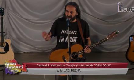 Festivalul DAM FOLK Recital Adi Bezna