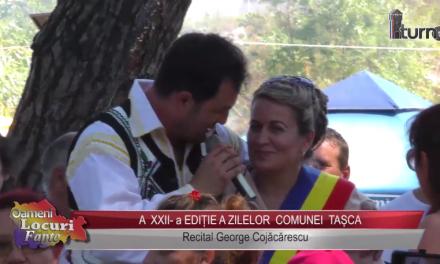 A XXII a EDITIE A ZILELOR COMUNEI TASCA recital George Cojacarescu