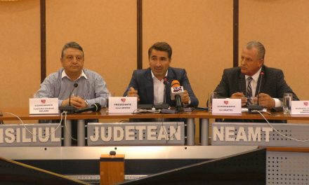 Conferinta de presa 24 08 2016 Consiliul Judetean Neamt