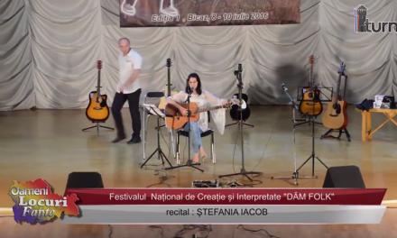 Festivalul DAM FOLK Recital Stefania Iacob