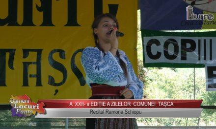 A XXII -a EDITIE A ZILELOR COMUNEI TASCA – recital Ramona Schiopu !