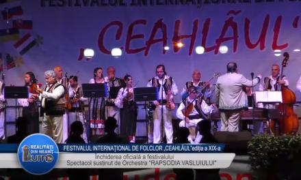 FESTIVALUL INTERNATIONAL DE FOLCLOR  CEAHLAUL EDITIA a XIX  a   Recital Matilda Pascal Cojocarita
