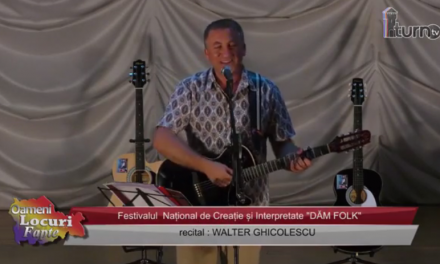 Festivalul DAM FOLK Recital Walter Ghicolescu