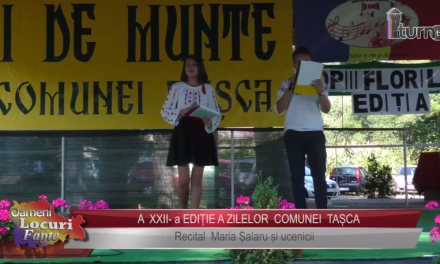 A XXII a EDITIE A ZILELOR COMUNEI TASCA Maria Salaru si ucenicii