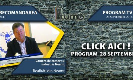 Program TV 28 septembrie 2016 si Recomandarea zilei