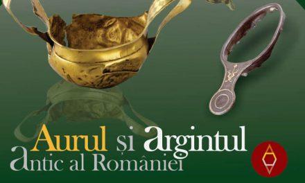 Aurul și argintul antic al României la Piatra Neamț