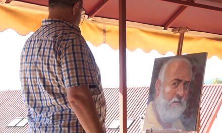Tabara de pictura Cacica -Ștefan Potop – Se naște un portret