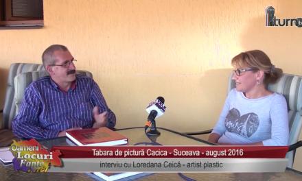 Tabara de pictura Cacica Suceava 2016 interviu cu: Loredana Ceica, Daniela Grapa, Lucreţia Milea