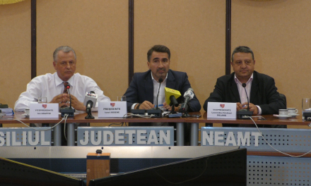 Conferinta de presa 08 09 2016 Consiliul Judetean Neamt