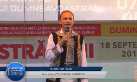 Recital Ion Paladi la Pastraveni