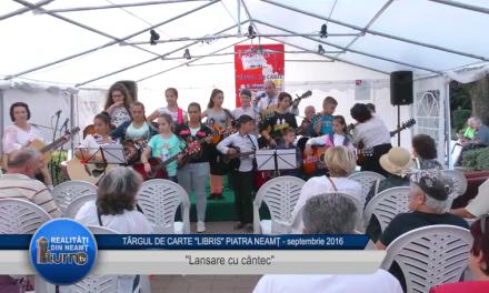 LIBRIS: Lansare cu cantec