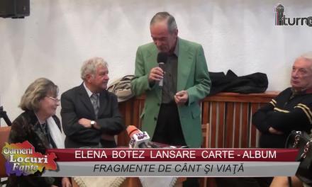 Lansare carte-album Elena Botez