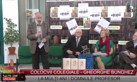 Colocvii colegiale Gheorghe Bunghez