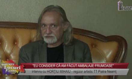 Interviu cu Horatiu Mihaiu