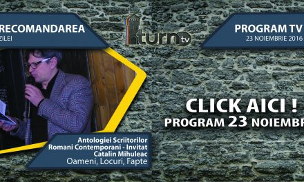 Program TV 23 noiembrie 2016 si Recomandarea zilei