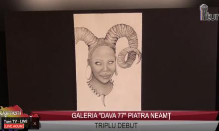 """Galeria """"Dava 77""""- Triplu debut"""