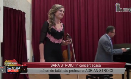 Sara Stroici in concert acasa