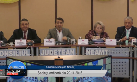 Consiliul Judetean Neamt 29 noiembrie 2016 !